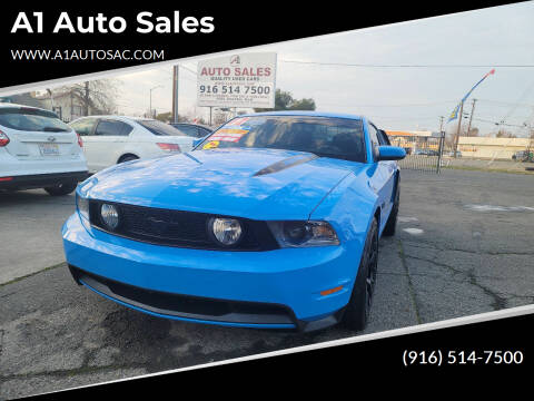 2012 Ford Mustang for sale at A1 Auto Sales in Sacramento CA