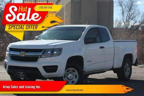 2015 Chevrolet Colorado for sale at Ariay Sales and Leasing Inc. in Denver CO