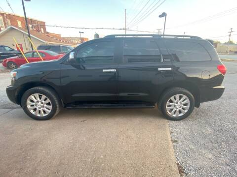 2013 Toyota Sequoia for sale at Casey Classic Cars in Casey IL