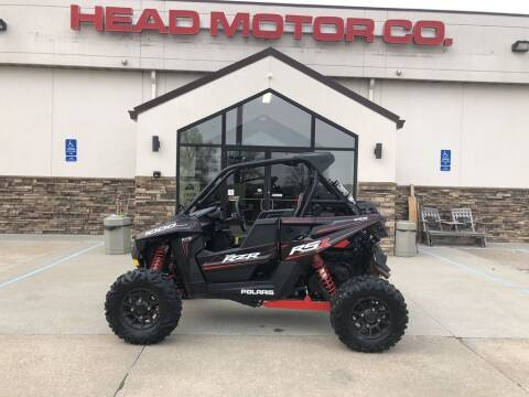 2019 Polaris RZR RS1 BLACK PEARL9AK for sale at Head Motor Company - Head Indian Motorcycle in Columbia MO