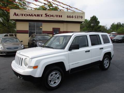 2013 Jeep Patriot for sale at Automart South in Alabaster AL