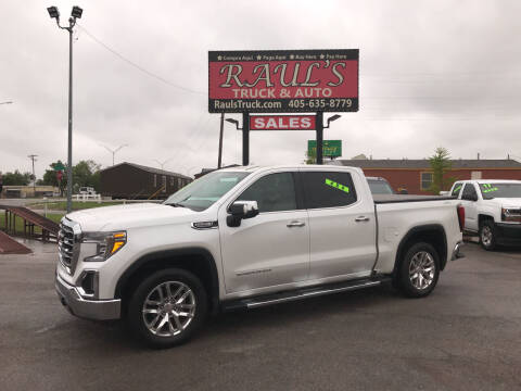2019 GMC Sierra 1500 for sale at RAUL'S TRUCK & AUTO SALES, INC in Oklahoma City OK