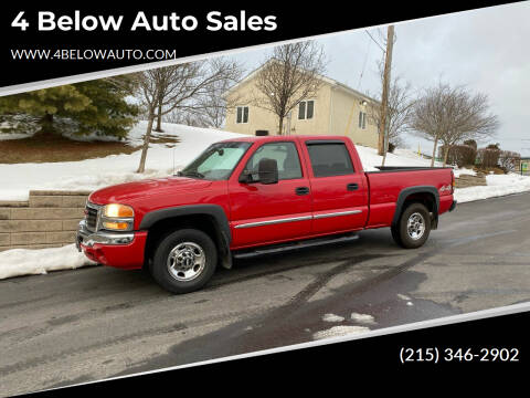 2007 GMC Sierra 1500HD Classic for sale at 4 Below Auto Sales in Willow Grove PA