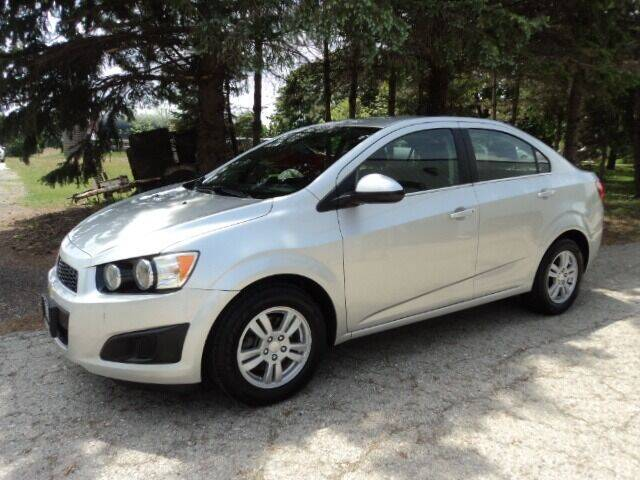 2015 Chevrolet Sonic for sale at HUSHER CAR COMPANY in Caledonia WI