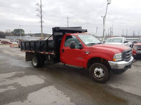 2004 Ford F-550 Super Duty for sale at C & C MOTORS in Chattanooga TN