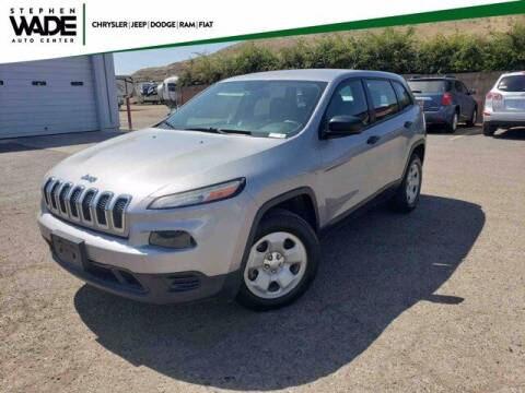 2014 Jeep Cherokee for sale at Stephen Wade Pre-Owned Supercenter in Saint George UT