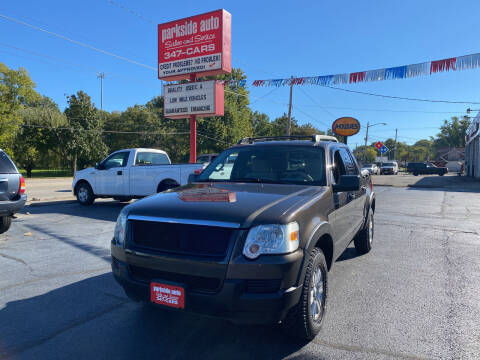 2007 Ford Explorer Sport Trac for sale at Parkside Auto Sales & Service in Pekin IL