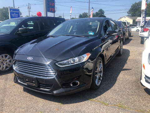2015 Ford Fusion for sale at SuperBuy Auto Sales Inc in Avenel NJ