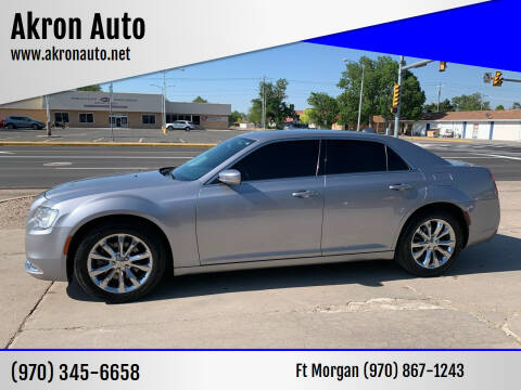 2015 Chrysler 300 for sale at Akron Auto - Fort Morgan in Fort Morgan CO