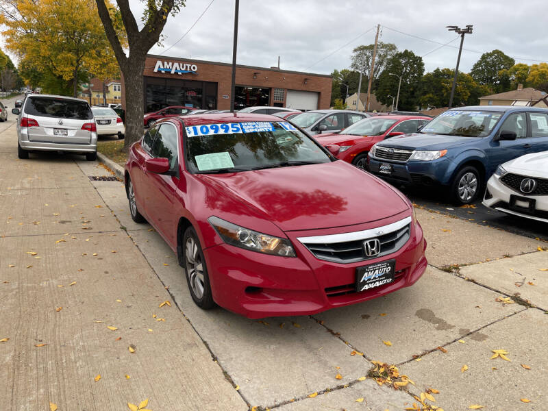 2012 Honda Accord for sale at AM AUTO SALES LLC in Milwaukee WI