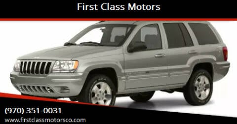 2001 Jeep Grand Cherokee for sale at First Class Motors in Greeley CO