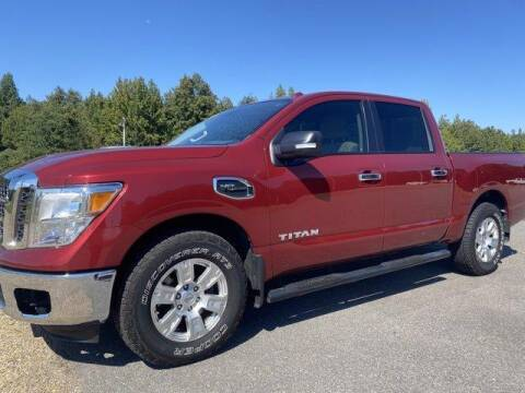 2017 Nissan Titan for sale at Holt Auto Group in Crossett AR