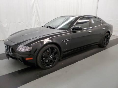 2007 Maserati Quattroporte for sale at LUXURY IMPORTS AUTO SALES INC in North Branch MN