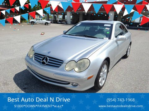 2004 Mercedes-Benz CLK for sale at Best Auto Deal N Drive in Hollywood FL