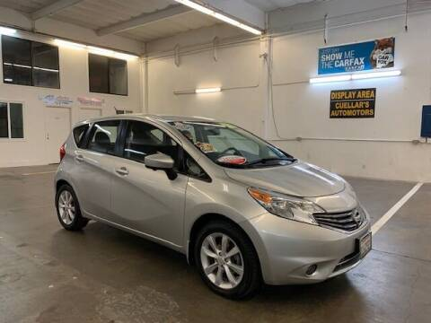 2016 Nissan Versa Note for sale at Cuellars Automotive in Sacramento CA