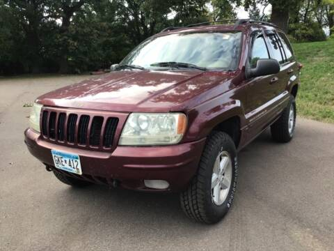 1999 Jeep Grand Cherokee for sale at Sparkle Auto Sales in Maplewood MN