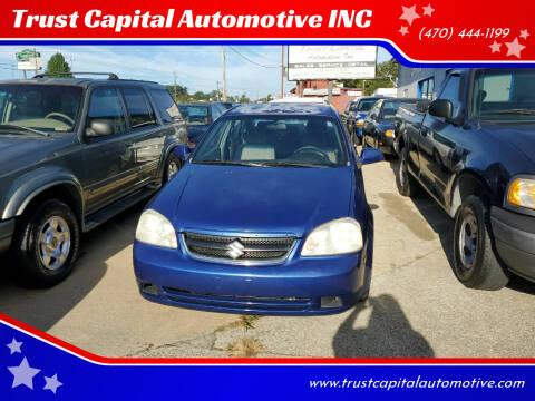 2007 Suzuki Forenza for sale at Trust Capital Automotive Inc. in Covington GA