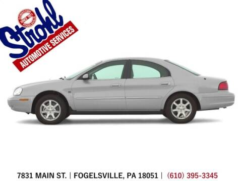 2000 Mercury Sable for sale at Strohl Automotive Services in Fogelsville PA