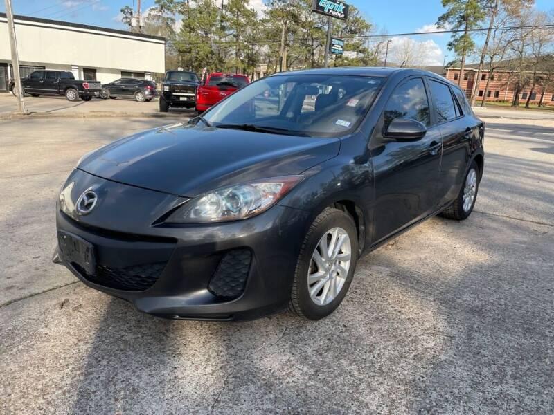 2012 Mazda MAZDA3 for sale at AUTO WOODLANDS in Magnolia TX
