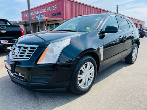 2013 Cadillac SRX for sale at Credit World Auto Sales in Fresno CA