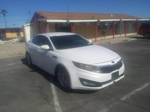 2012 Kia Optima for sale at Car Spot in Las Vegas NV