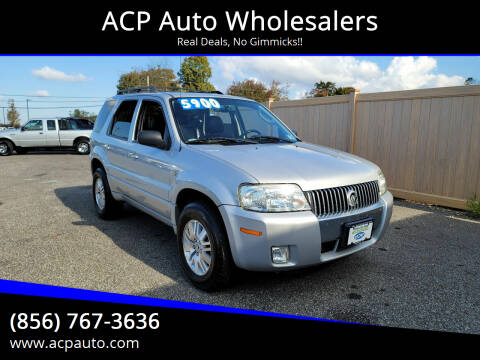 2007 Mercury Mariner for sale at ACP Auto Wholesalers in Berlin NJ