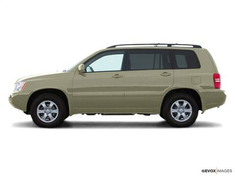 2003 Toyota Highlander for sale at CHAPARRAL USED CARS in Piney Flats TN