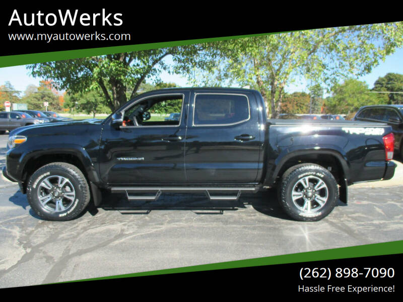 2017 Toyota Tacoma for sale at AutoWerks in Sturtevant WI