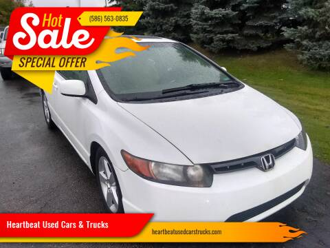 2008 Honda Civic for sale at Heartbeat Used Cars & Trucks in Clinton Twp MI