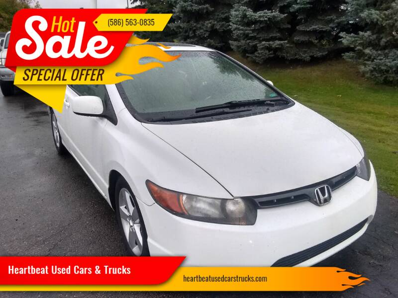 2008 Honda Civic for sale at Heartbeat Used Cars & Trucks in Harrison Township MI