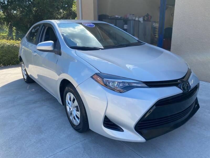 2018 Toyota Corolla for sale at Jeff's Auto Sales & Service in Port Charlotte FL