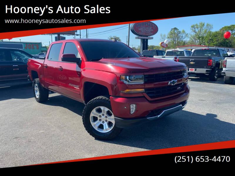 2018 Chevrolet Silverado 1500 for sale at Hooney's Auto Sales in Theodore AL