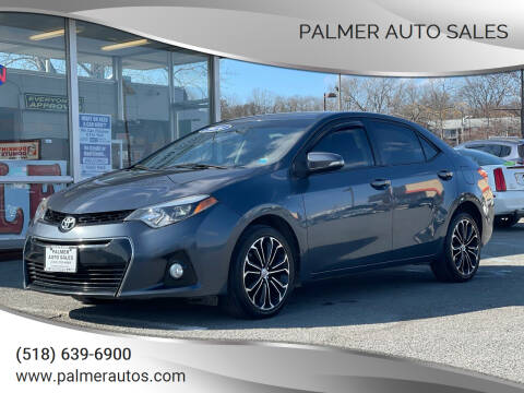 2014 Toyota Corolla for sale at Palmer Auto Sales in Menands NY