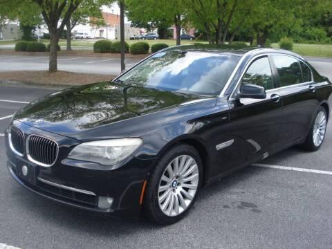 2009 BMW 7 Series for sale at Uniworld Auto Sales LLC. in Greensboro NC