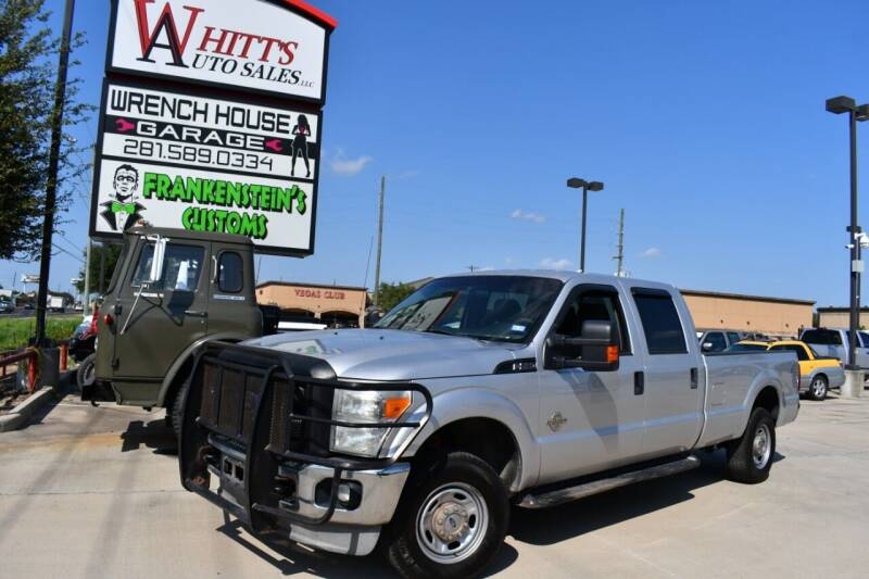 2011 Ford F-250 Super Duty for sale at WHITT'S AUTO SALES, LLC in Houston TX