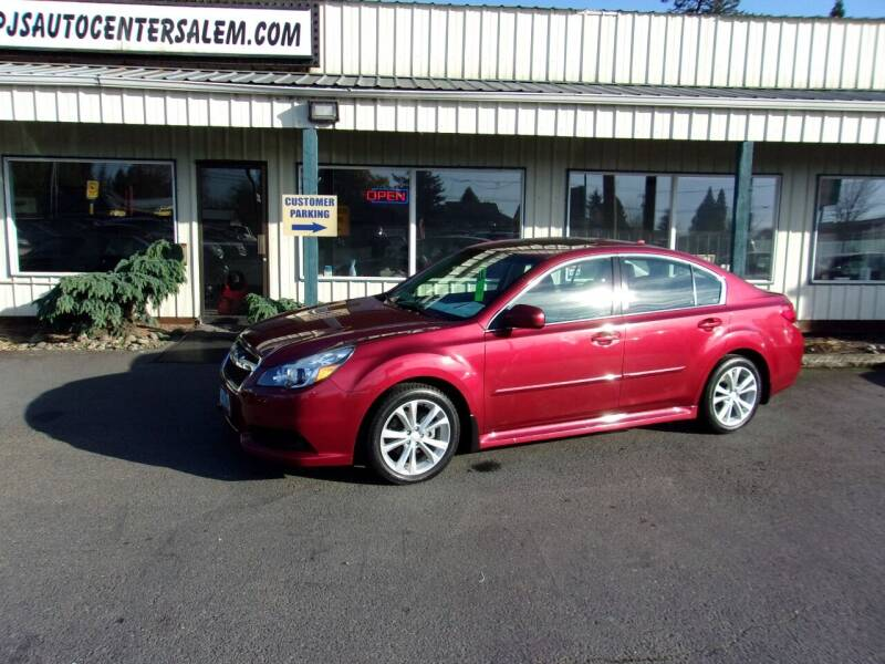 2014 Subaru Legacy for sale at PJ's Auto Center in Salem OR