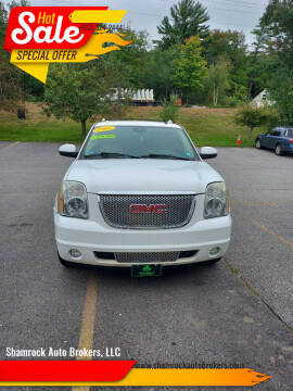 2007 GMC Yukon XL for sale at Shamrock Auto Brokers, LLC in Belmont NH