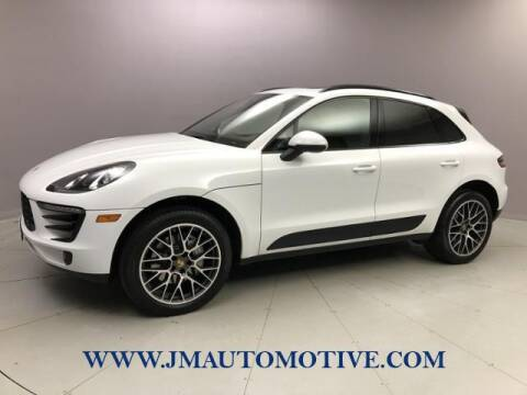 2018 Porsche Macan for sale at J & M Automotive in Naugatuck CT