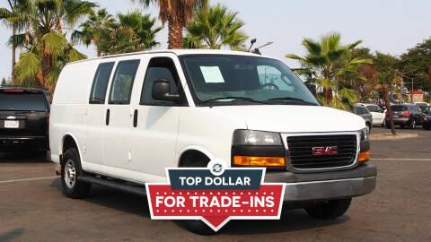 2020 GMC Savana Cargo for sale at Okaidi Auto Sales in Sacramento CA