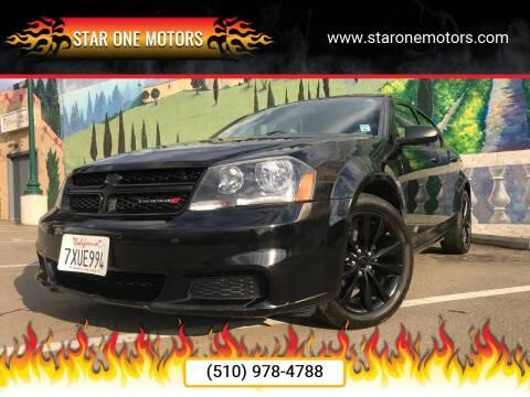 2014 Dodge Avenger for sale at Star One Motors in Hayward CA