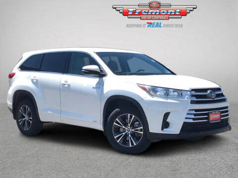 2018 Toyota Highlander Hybrid for sale at Rocky Mountain Commercial Trucks in Casper WY