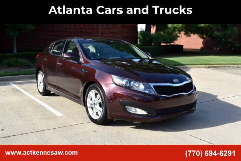 2011 Kia Optima for sale at Atlanta Cars and Trucks in Kennesaw GA
