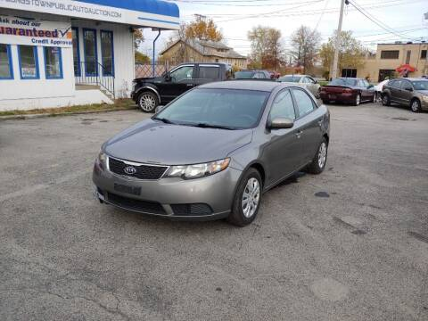 2012 Kia Forte for sale at E.L. Davis Enterprises LLC in Youngstown OH