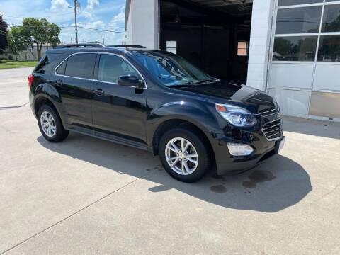 2017 Chevrolet Equinox for sale at Kobza Motors Inc. in David City NE