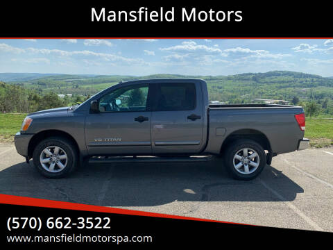 2014 Nissan Titan for sale at Mansfield Motors in Mansfield PA