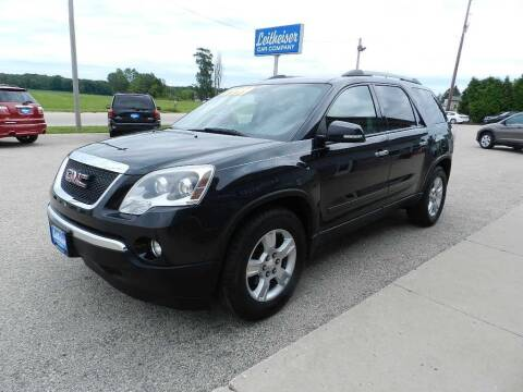 2010 GMC Acadia for sale at Leitheiser Car Company in West Bend WI