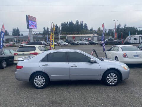 2005 Honda Accord for sale at New Creation Auto Sales in Everett WA