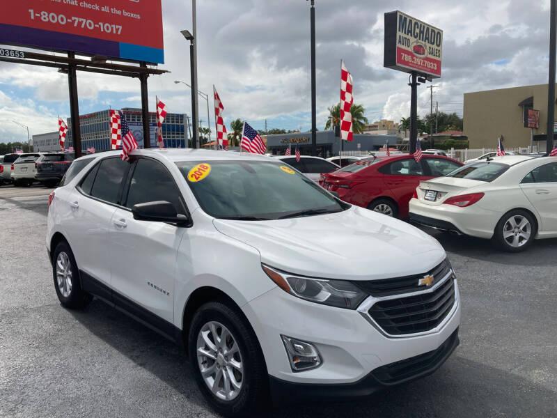 2018 Chevrolet Equinox for sale at MACHADO AUTO SALES in Miami FL