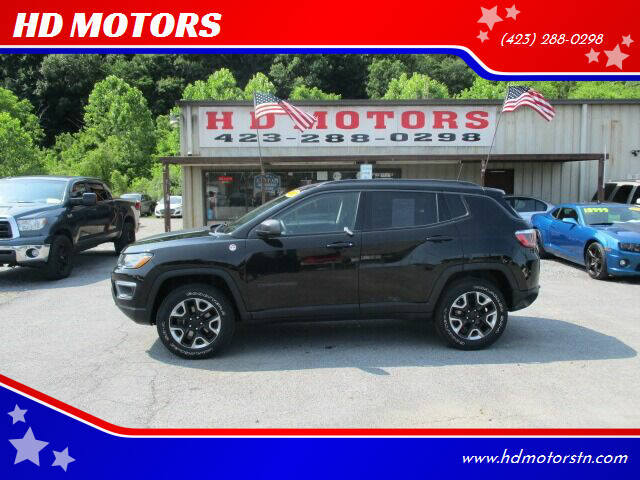2017 Jeep Compass for sale at HD MOTORS in Kingsport TN