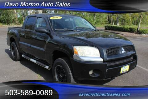 2007 Mitsubishi Raider for sale at Dave Morton Auto Sales in Salem OR
